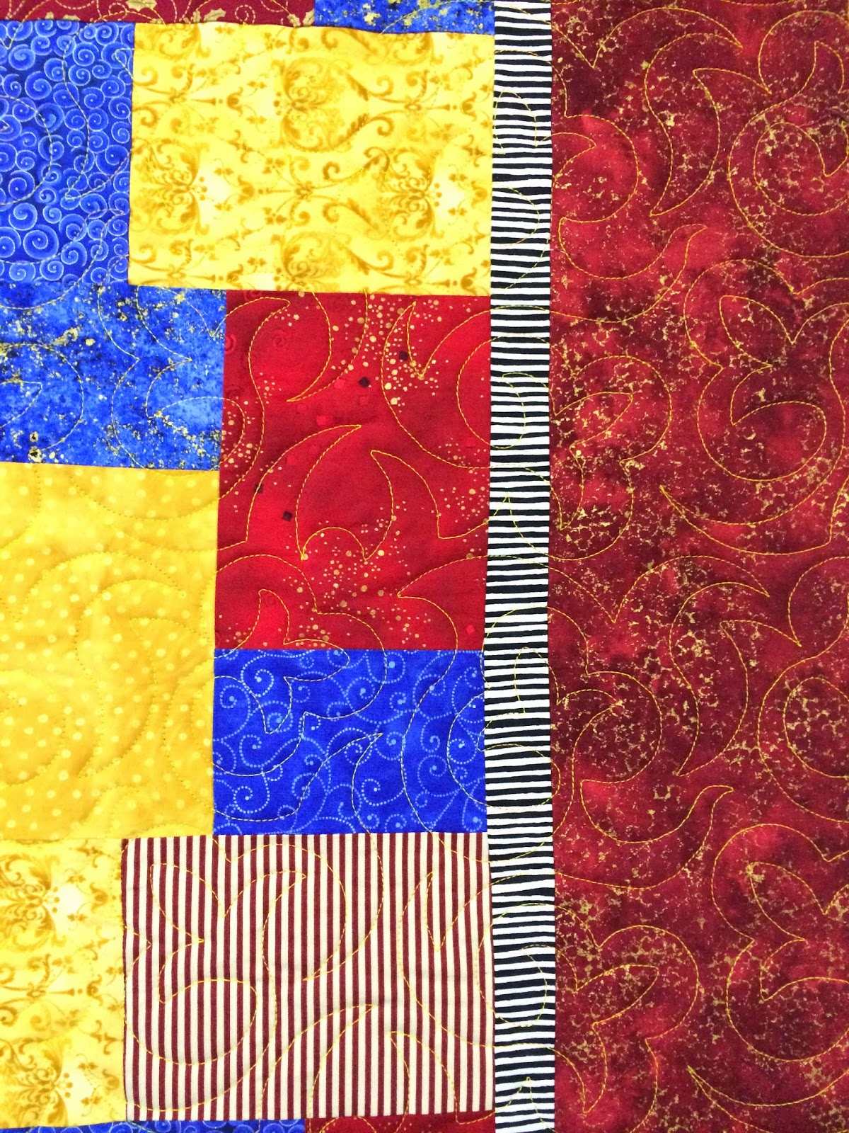 Delia Romero's Multi-Color Quilt