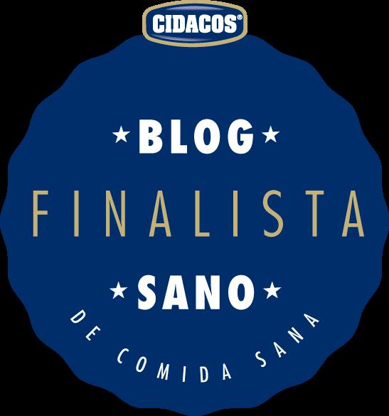 """¡Finalista en el Concurso """"Mejor Blog de Comida Sana"""" de Cidacos! :-)"""