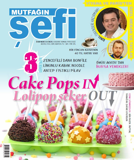 Mutfağın Şefi dergisi kapağı