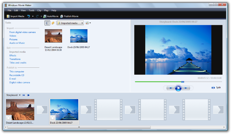 how to copy your custom setting in windows movie maker
