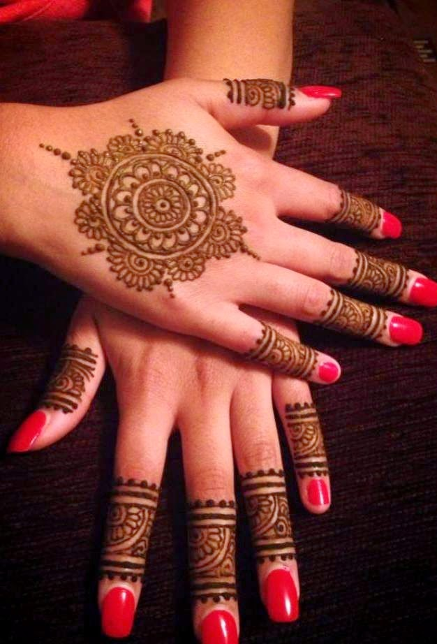 Best Mehndi/Henna Collection 2014-2015