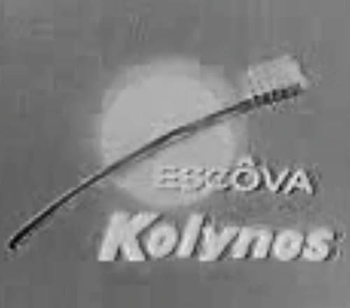 Chamada patrocinada do Kolynos para o seriado Lassie, nos anos 50.