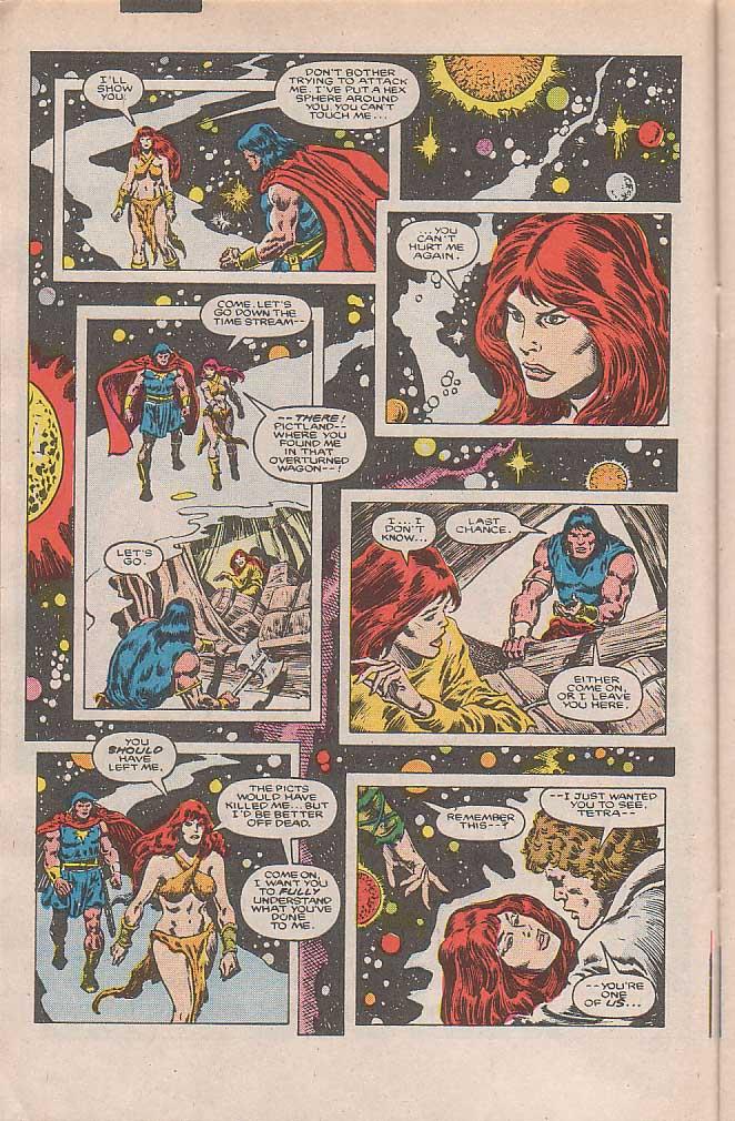 Conan the Barbarian (1970) Issue #185 #197 - English 7