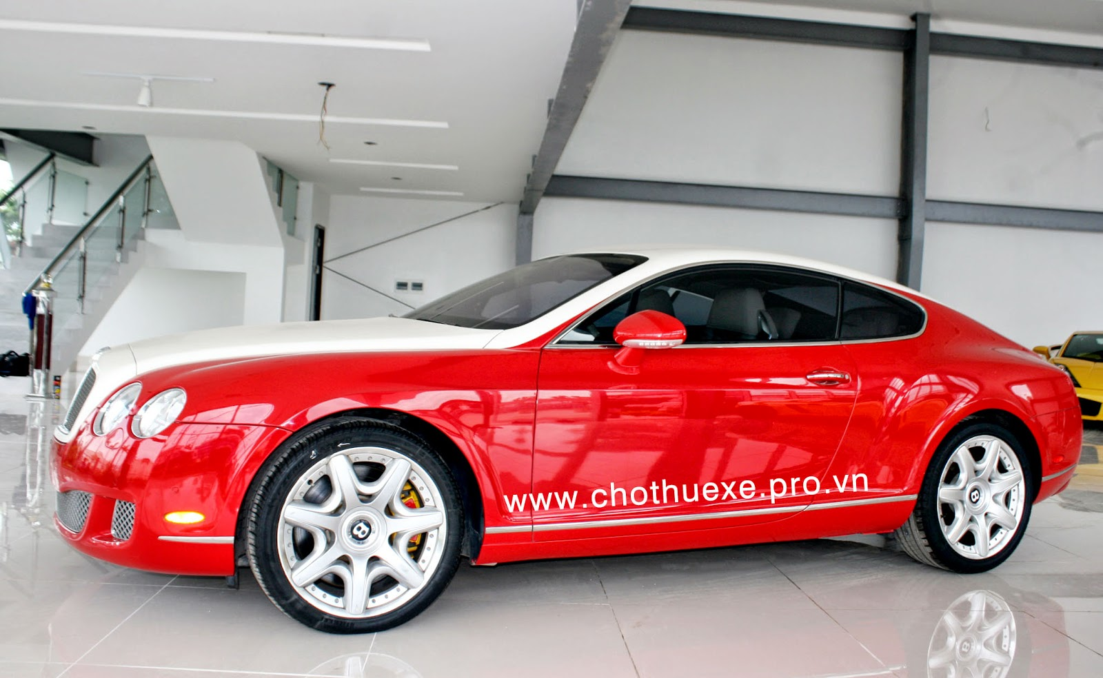 cho thue xe bentley continental gt