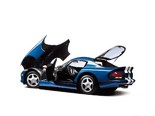 Dream Dodge Viper Blue