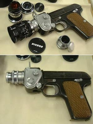 Lensa berbentuk Pistol