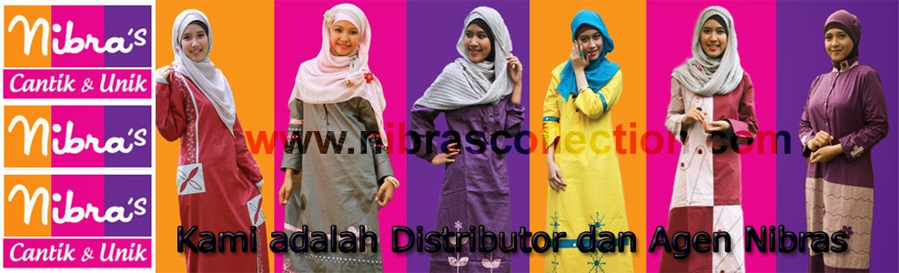Jual Baju Gamis Muslim Nibras Fashion Collection