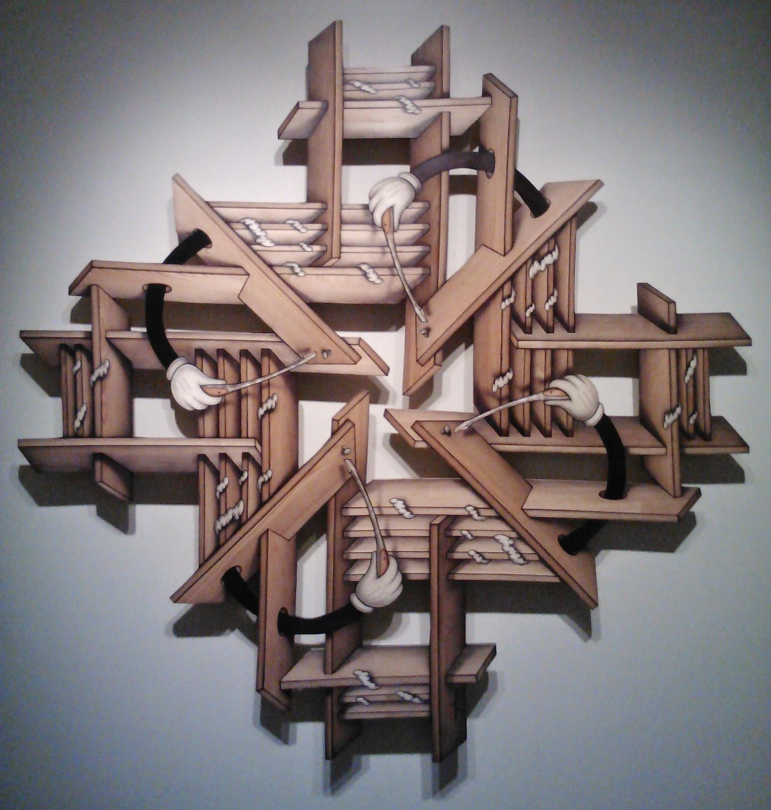 picked raw peeled john cederquist illusions in wood at