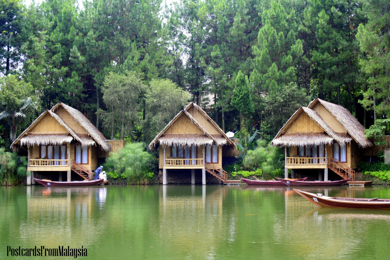 Kampung Sampireun Resort, Garut, Java, Indonesia