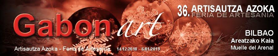 Gabonart - 2018-Feria de artesanía de Navidad de Bilbao