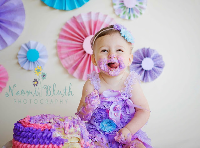 boca raton cake smash naomi bluth photography