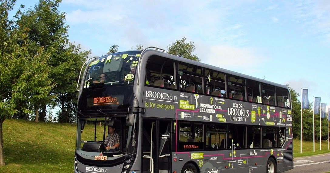 Focus Transport New Buses For Oxford Brookes University