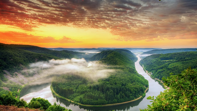 Saarland Scenery in Germany