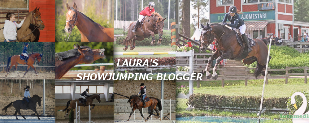 Laura's show jumping blogger