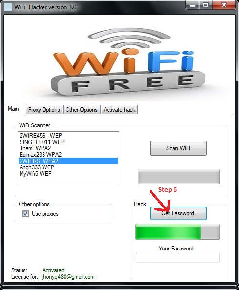 Wifi Password Hacker Pro