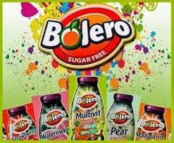 80 SOBRES DE BEBIDAS BOLERO POR SOLO 26'50 ENVIO INCLUIDO