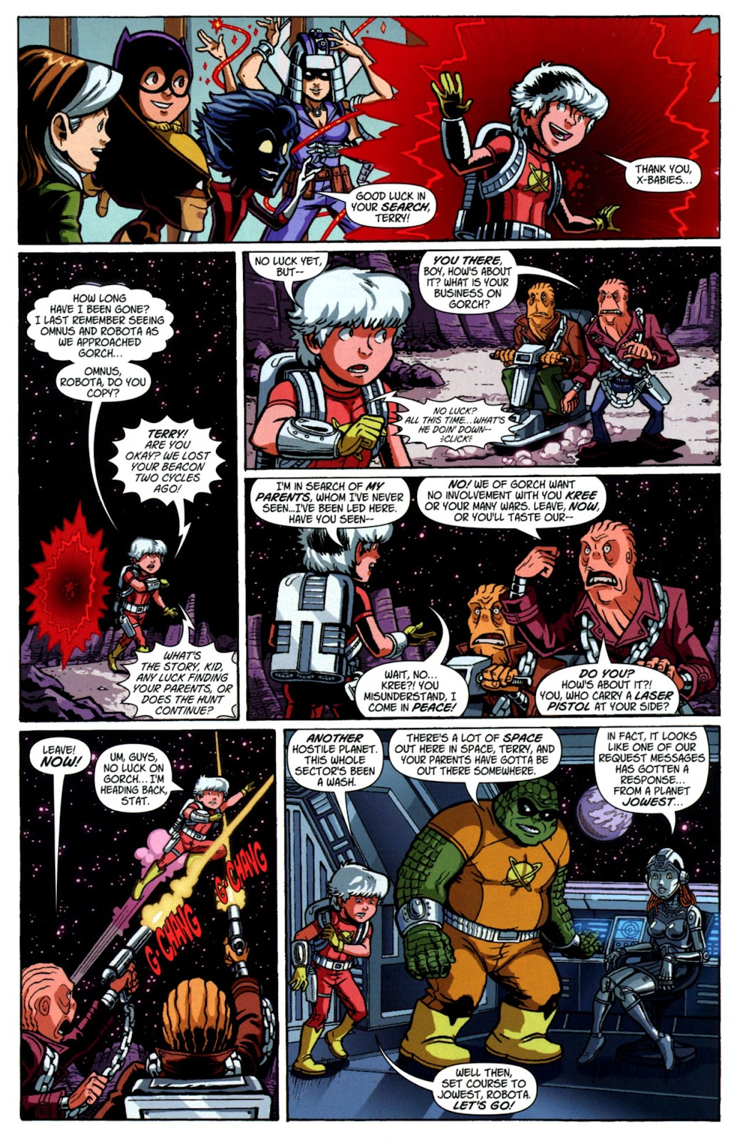 Read online X-Babies comic -  Issue #4 - 18