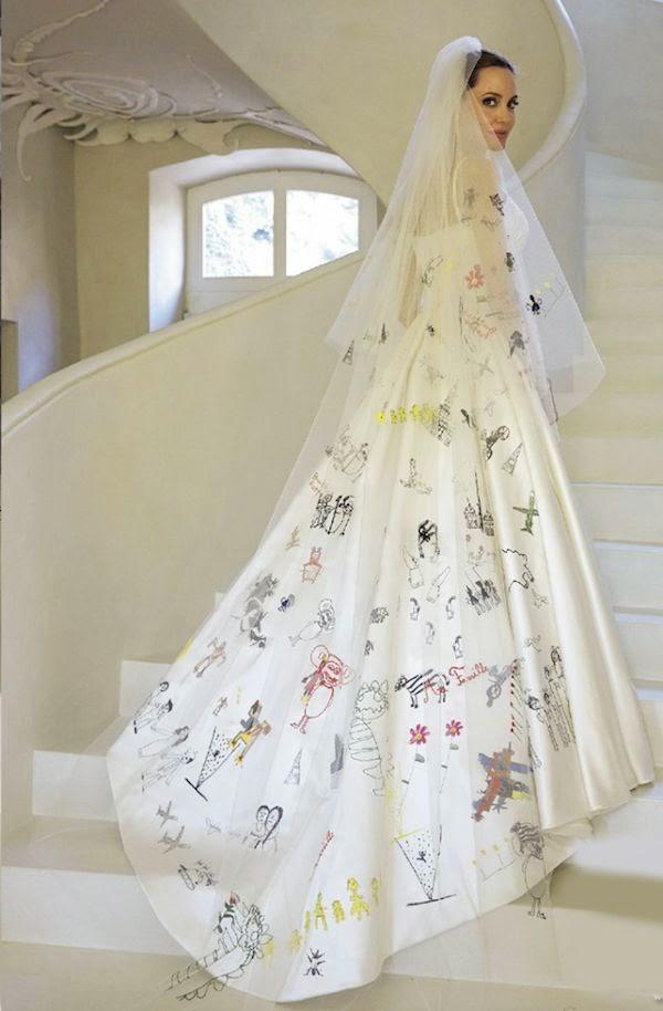Risultati immagini per velo sposa angelina jolie