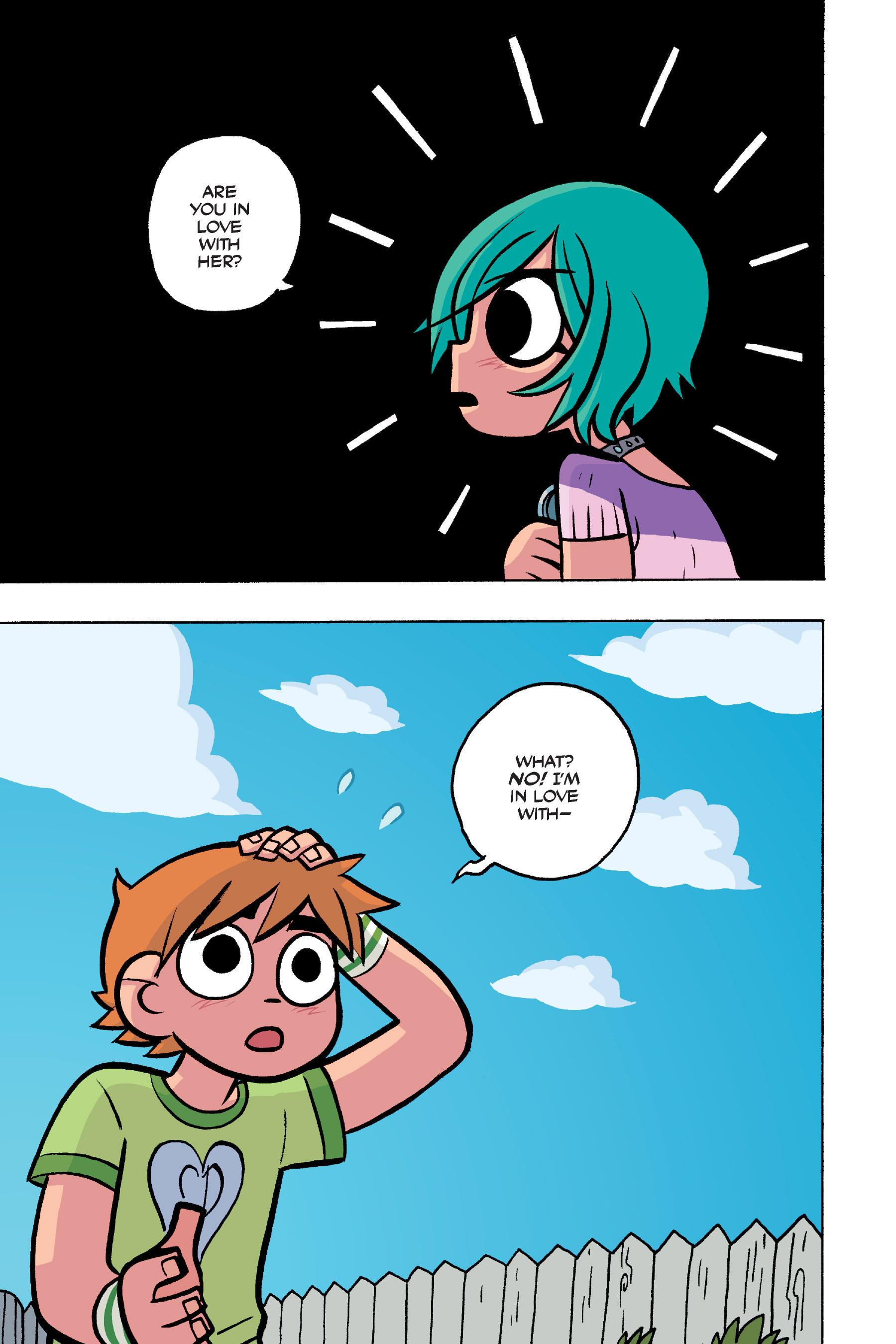 Read online Scott Pilgrim comic -  Issue #4 - 163