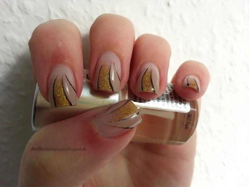 [HD] Einfaches Herbst Nageldesign für kurze Nägel  - nageldesign herbst