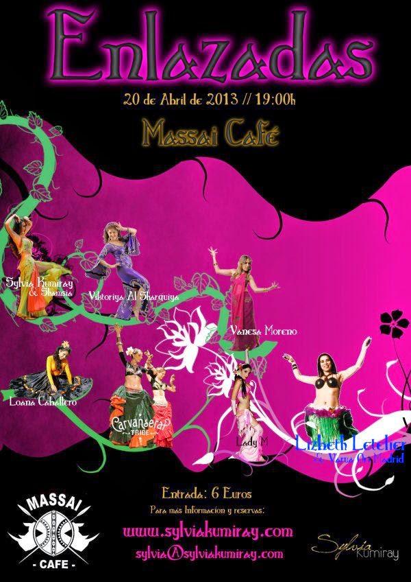 Espectaculo de danza oriental en Madrid