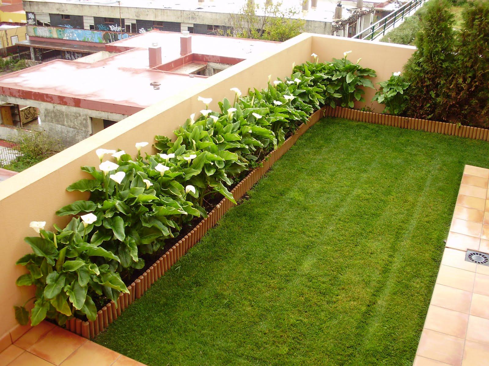 Jardines modernos residenciales v rias - Diseno jardines modernos ...