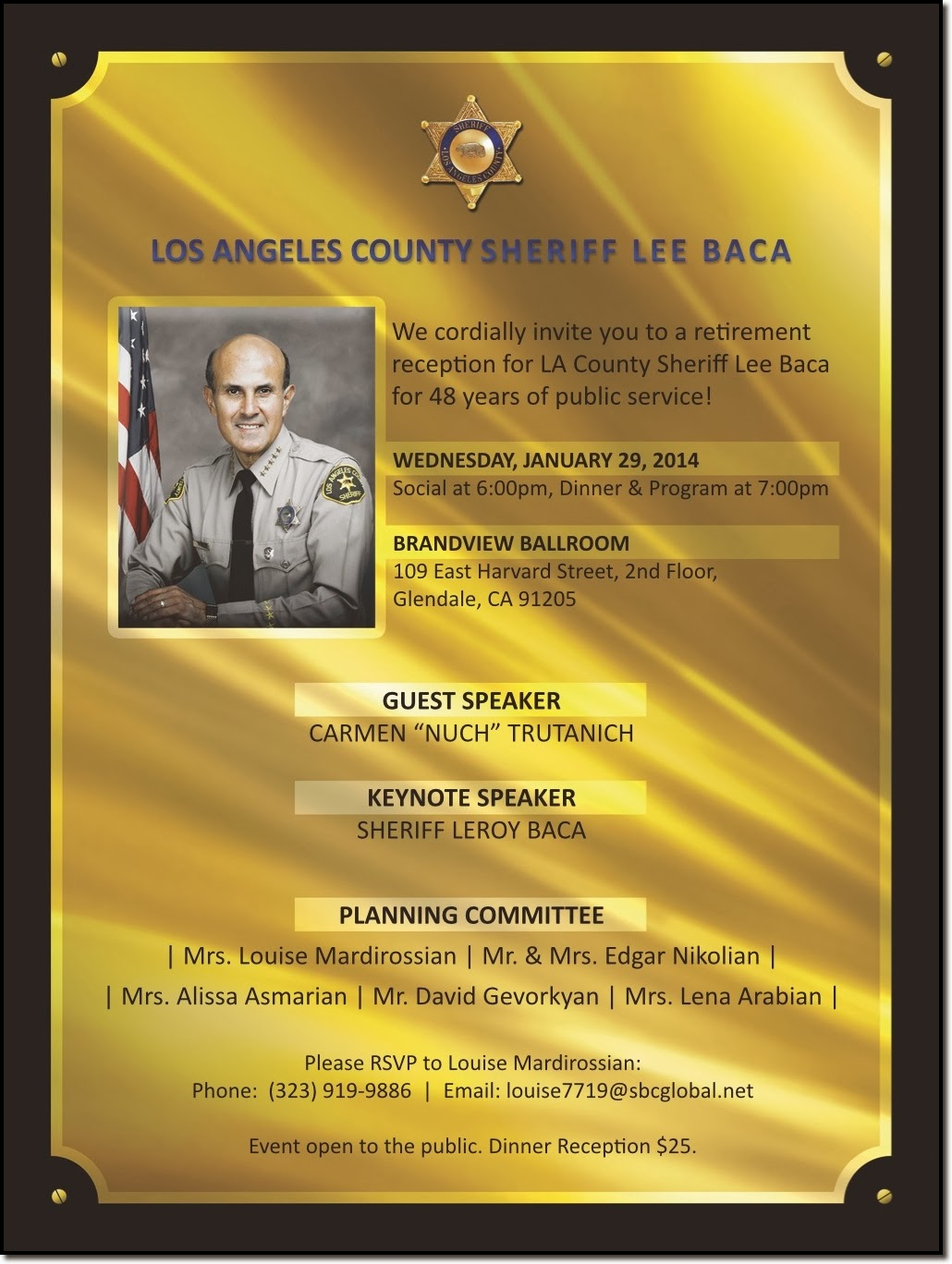 los angeles dragnet sheriff baca expect no apologies on retirement