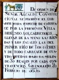 notícia de dies passats: 1830
