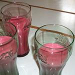 Milk-shakes à la framboise et au yaourt