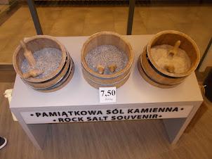 """Rock Salt Souvenirs"" of Wieliczka salt  Mines"