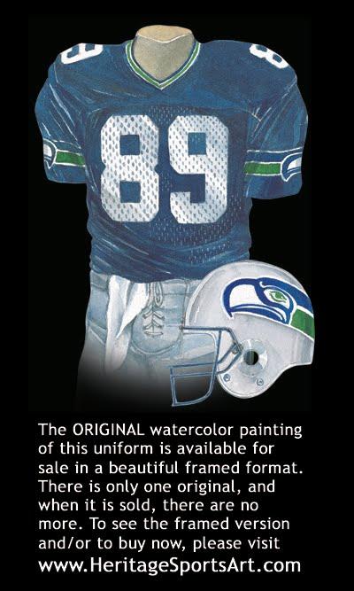Seattle Seahawks Uniform And Team History Heritage