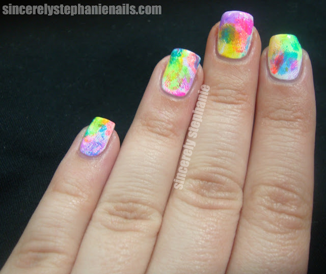 fingerprint nails nail art