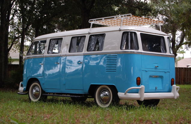 rare vw bus deluxe  window  door auto restorationice