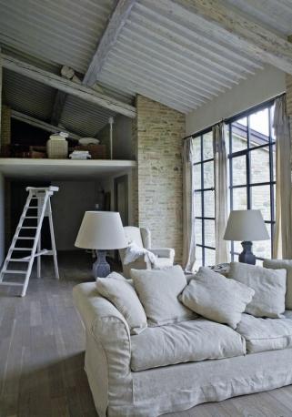 Interior design home decor contemporary art casa di for Piani casa di campagna
