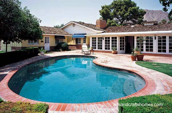 Casa rancho californiana moderna