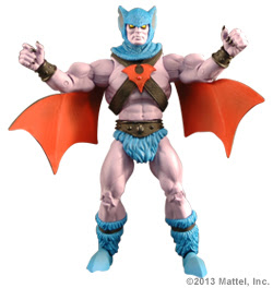 Mattle Matty Collector Master of the Universe MOTU Classics Filmation Batros figure
