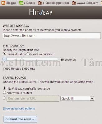 website address Hitleap Viewer