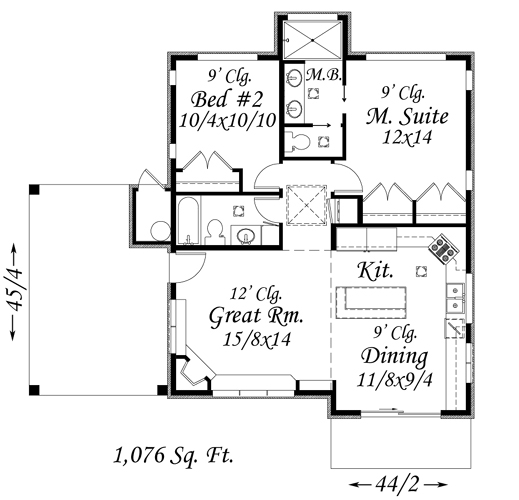 Via Best Small House Plans 2011