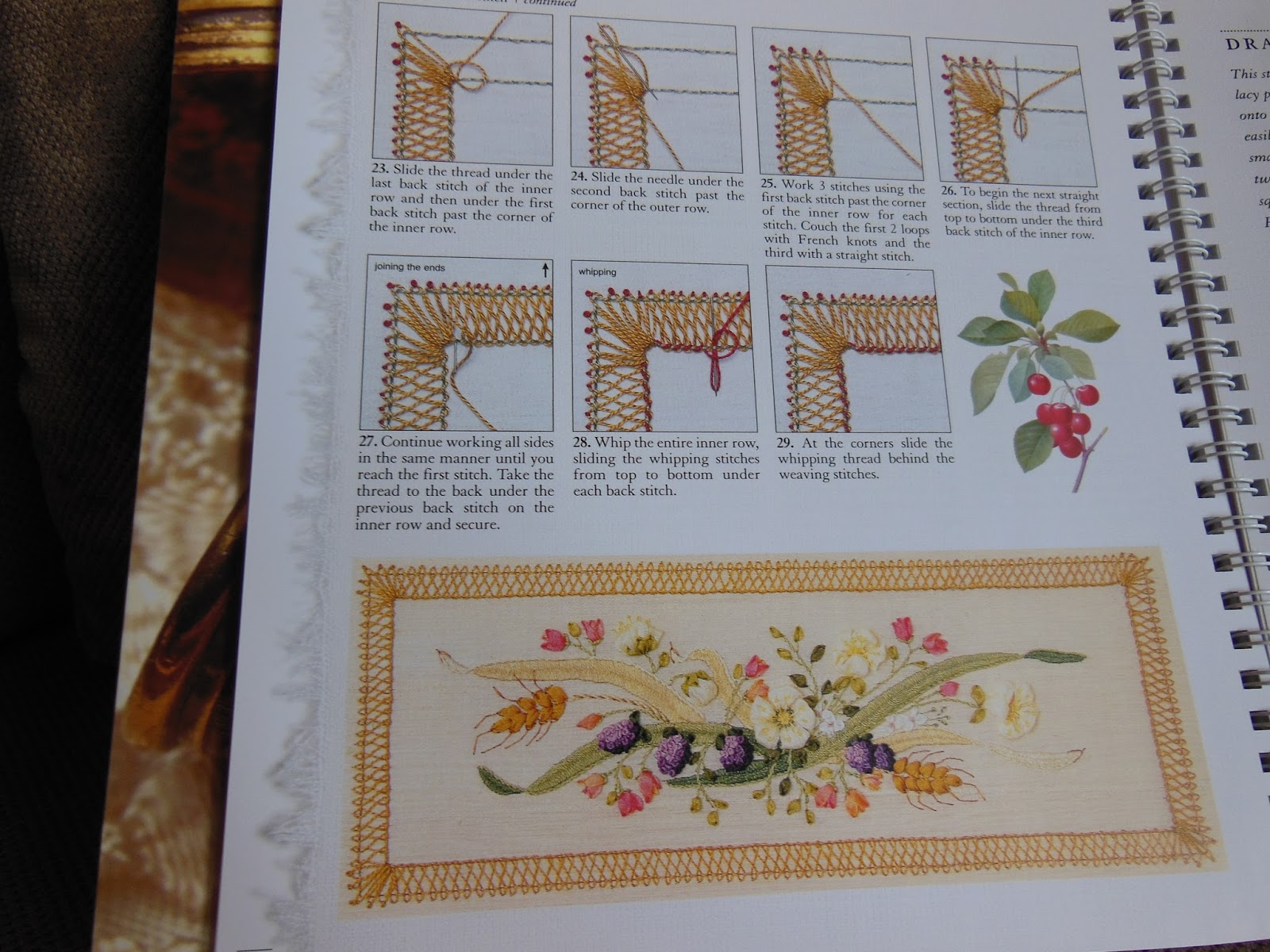 Embroiderelaine book review a z of embroidery stitches