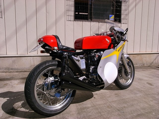 racing caf honda cb 550 four by oldstyle 39 70s. Black Bedroom Furniture Sets. Home Design Ideas