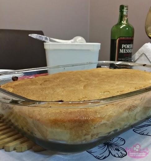 Receita de torta quente de maçã