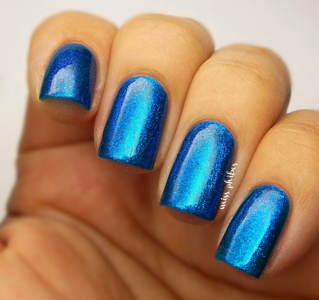 China Glaze Blue Iguana