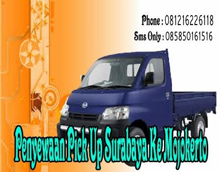 Penyewaan Pick Up Surabaya Ke Mojokerto