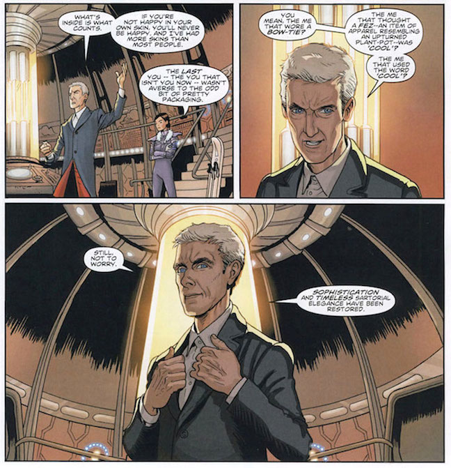 Doctor Who The Twelfth 1 By Robbie Morrison And Dave Taylor Titan Comics 2014 Comic Review