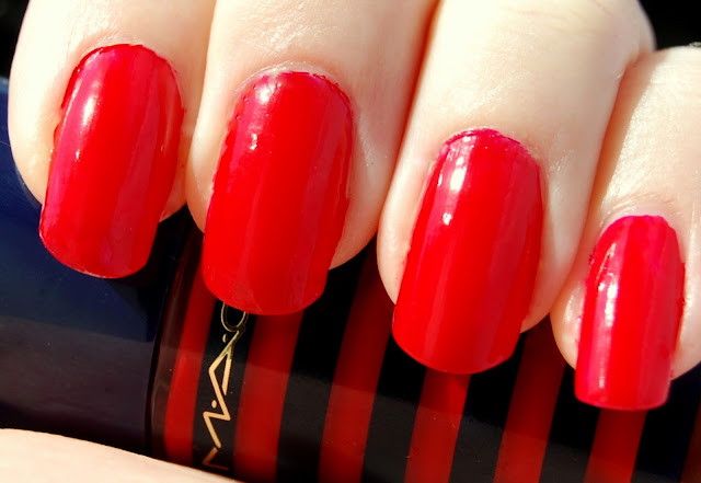 MAC Hey, Sailor! Nail Lacquer in Touch of Red