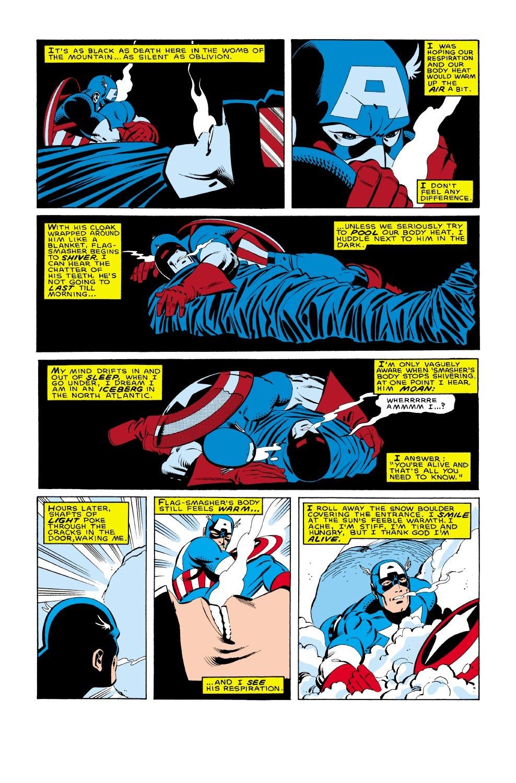Captain America (1968) Issue #322 #250 - English 16