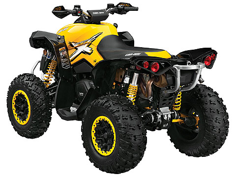 2013 Can-Am Renegade Xxc 1000 ATV pictures. 480x360 pixels