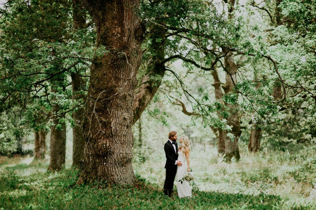 Bröllopsfotografering i Apladalen i Värnamo
