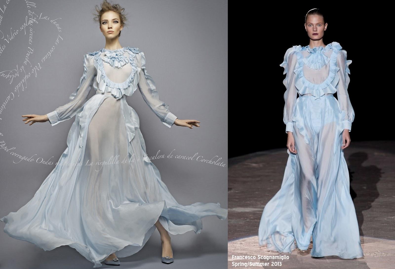 Fashion TV: Harper\'s Bazaar - A Fling with Ruffles