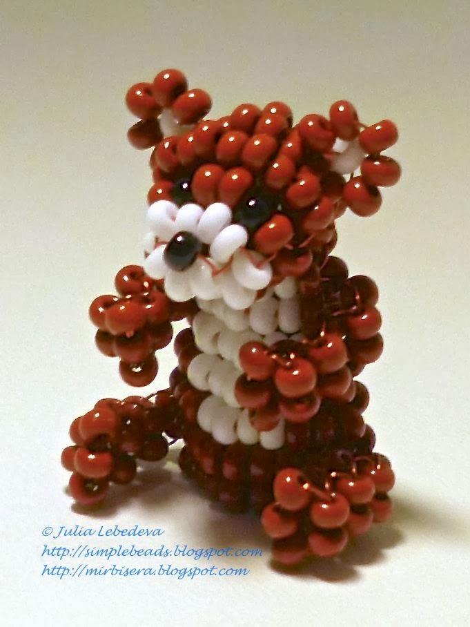 Beaded bear